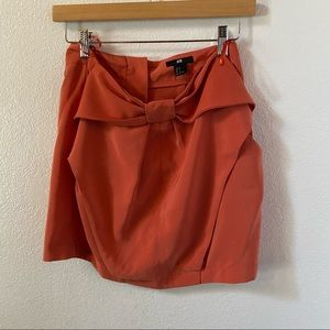 H&M bow tie synch skirt size US 6